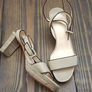 Christian Louboutin Heeled Strappy Sandals